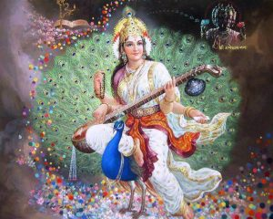 beautiful Saraswati
